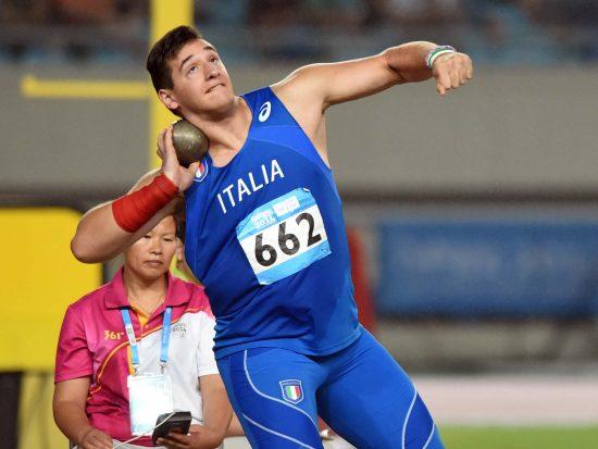 Najing, 24 Agosto 2014  NANJING2014 YOUTH OLYMPIC GAMES  YOG2014,#nanjing2014yog., #Italyteam  nella foto : ATLETICA Getto del peso Fabbri foto Augusto Bizzi