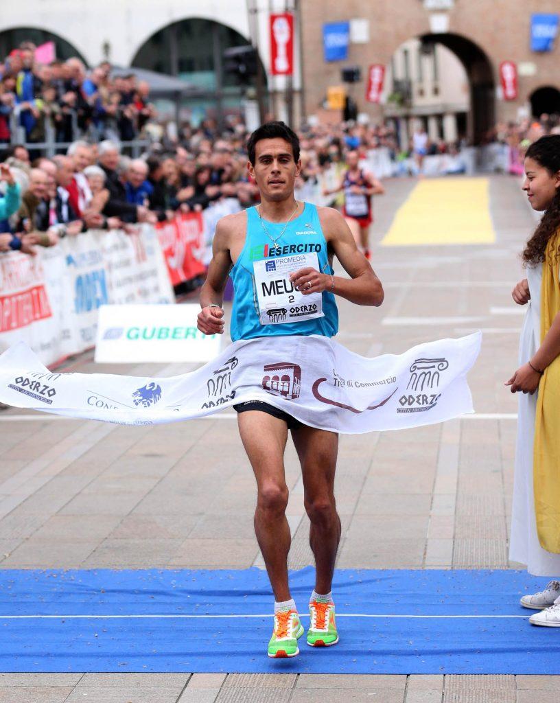 Daniele Meucci chiude bene la Maratona di Amburgo