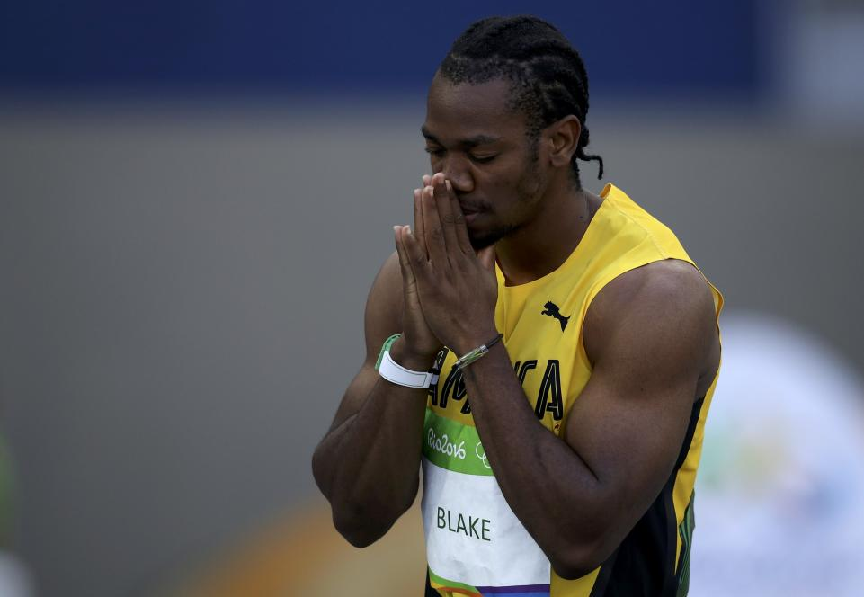 Yohan Blake rinuncia all' ultimo minuto alle  World Relays