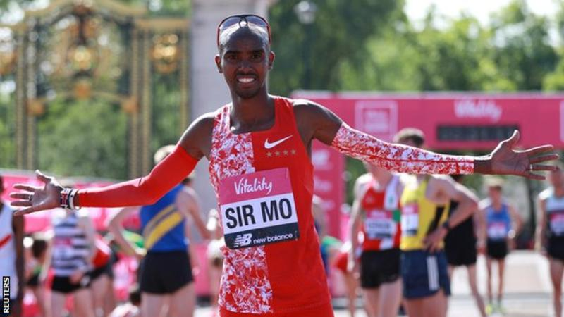 Mo Farah vince per la settima volta la Vitality London 10.000 metri