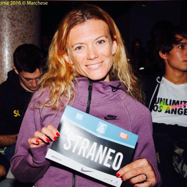 Valeria Straneo madrina della StrAlessandria del 10 maggio
