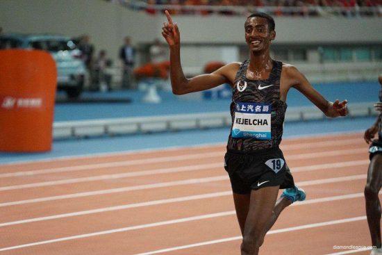 Risultati Shanghai: Kejelcha vince i 5000 con la miglior prestazione mondiale
