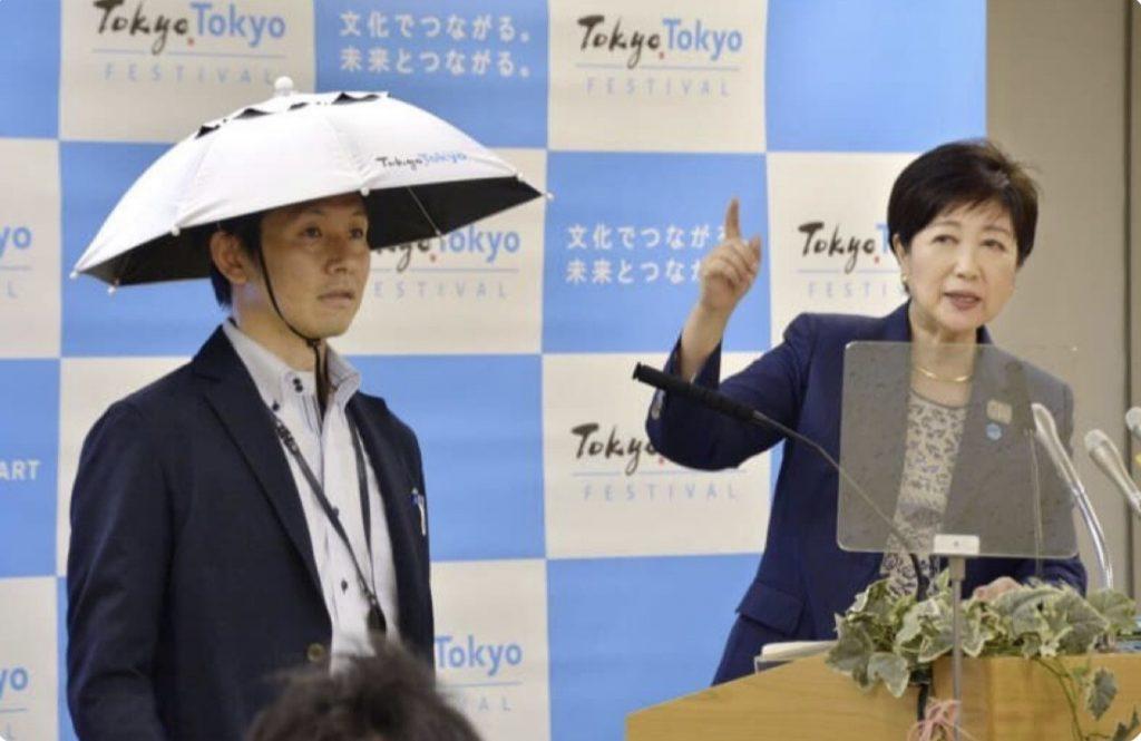 Tokyo 2020: contro il grande caldo svelati i cappelli-ombrelli