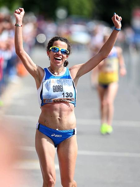 Eleonora Giorgi stratosferica!: record Europeo nella 50 km di Coppa Europa di marcia