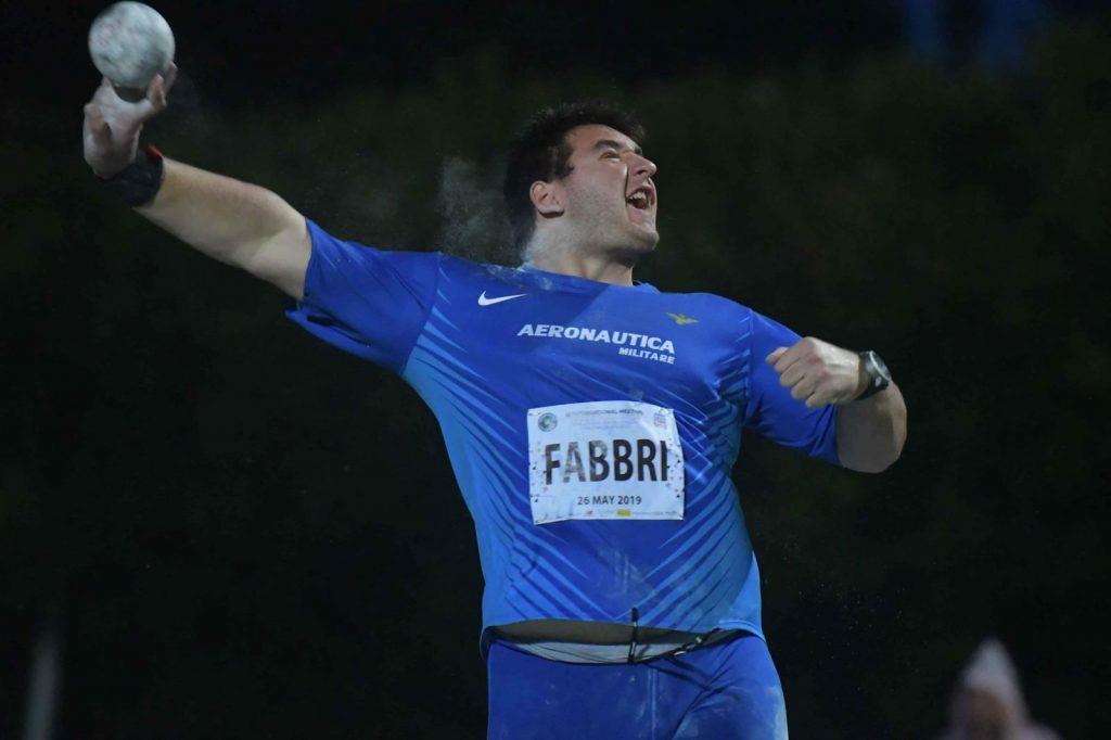Leonardo Fabbri ancora sopra i 20 metri a nel peso a Savona
