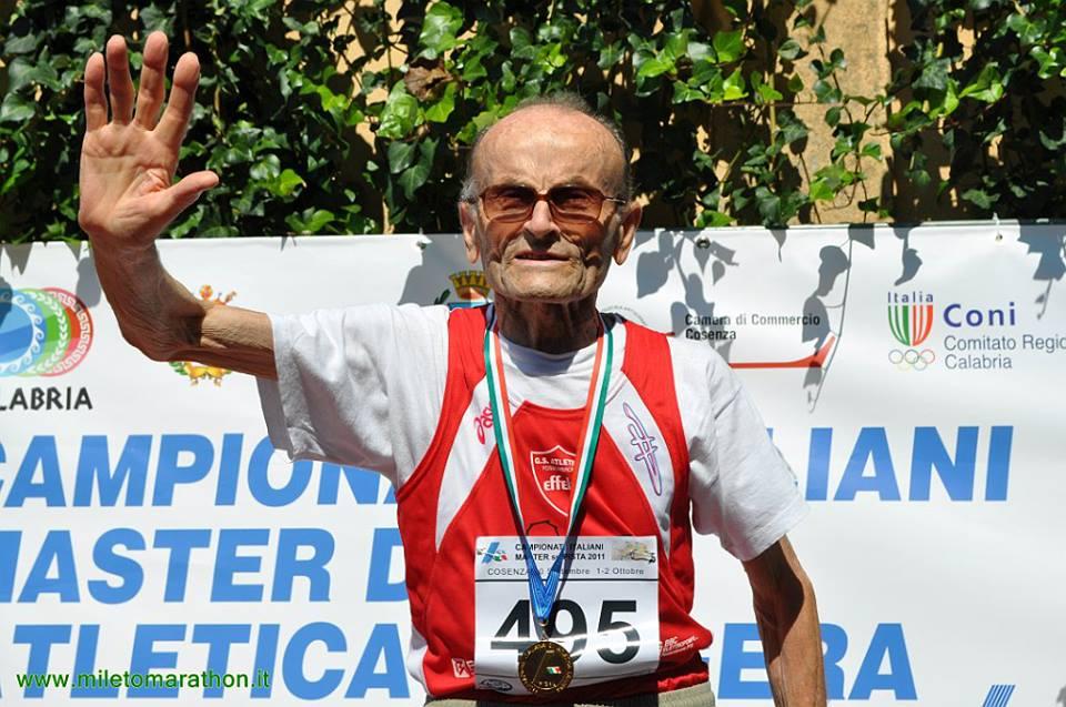 Giuseppe Ottaviani festeggia 103 anni! l'incredibile storia dell'atleta più longevo dell'atletica