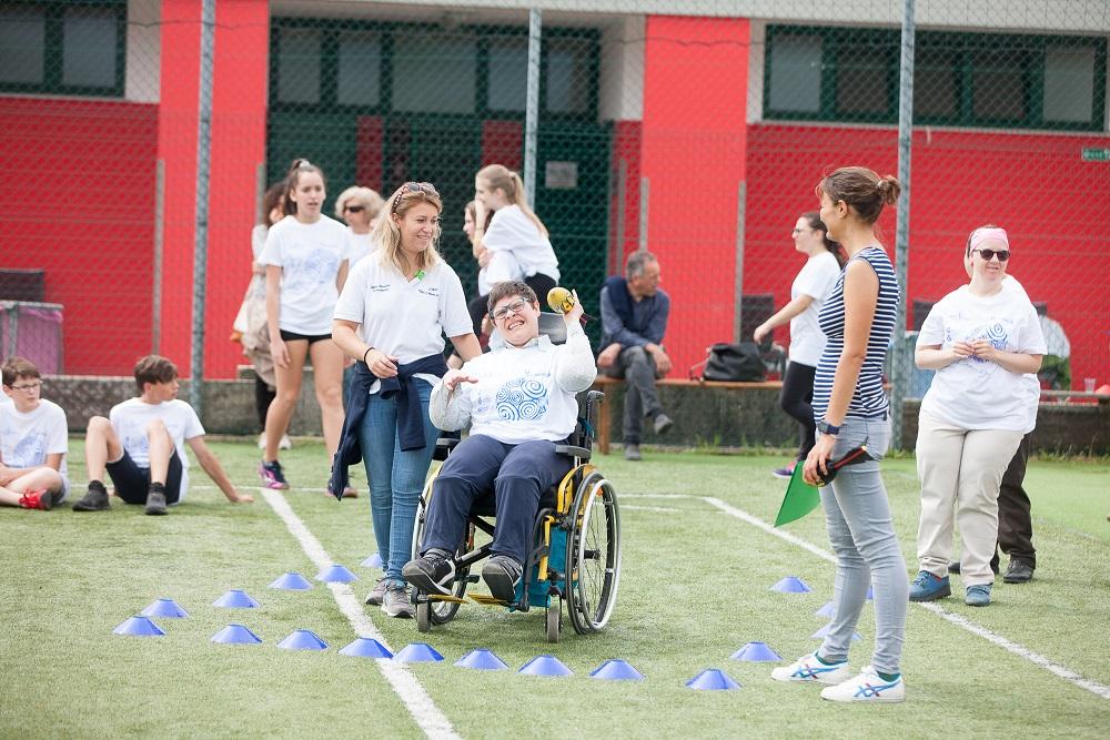CS | Dai e Vai - Convengno con il campione paralimpico Andrea Devicenzi, che ricorda ai ragazzi che nulla è impossile