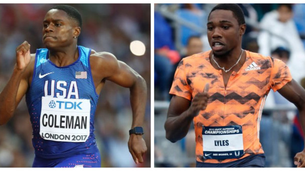Christian Coleman e Noah Lyles guidano i duelli della Diamond League a Shanghai; ecco come guardarli