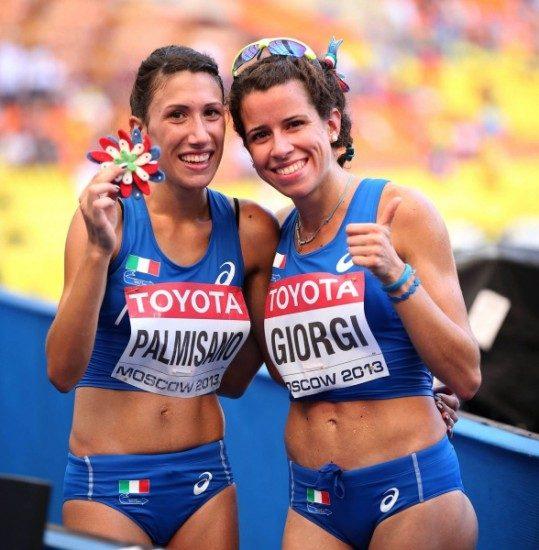 Antonella Palmisano ed Eleonora Giorgi guidano gli azzurri per la Coppa Europa di marcia