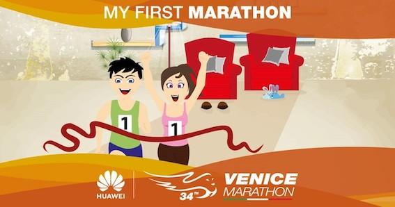 """Venicemarathon lancia """"My First Marathon"""""""