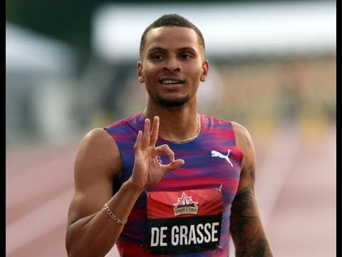 Andre de Grasse vince i 100 metri ai Taiwan Open Championships