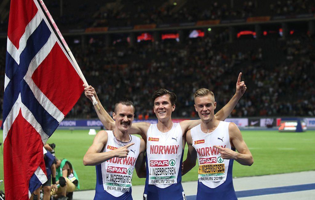 Stasera i 3 fratelli INGEBRIGTSEN attesi nei 1500 metri di Stoccolma