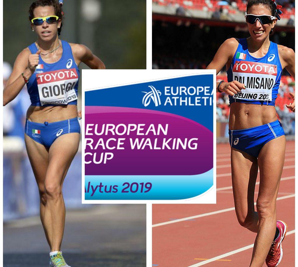 Marcia: Diretta STREAMING della Coppa Europa con gli azzurri Palmisano-Giorgi-Stano: RISULTATI LIVE