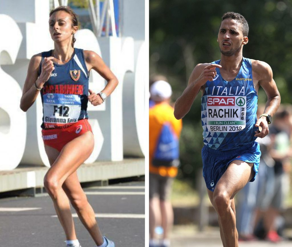 Giovanna Epis e Yassine Rachik correranno oggi la Mattoni Half Marathon