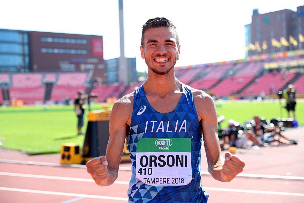 Riccardo Orsoni vince la 10 km U20 della Coppa Europa di marcia