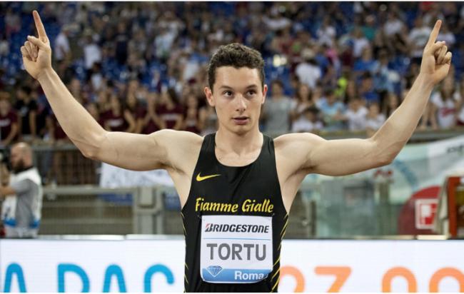 """Spettacolo Filippo Tortu 9""""97! Per un soffio di vento sfuma il  record italiano dei 100 metri"""