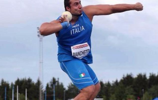 Risultati CDS Rieti: Bianchetti vicino ai 20 metri nel peso, record personale