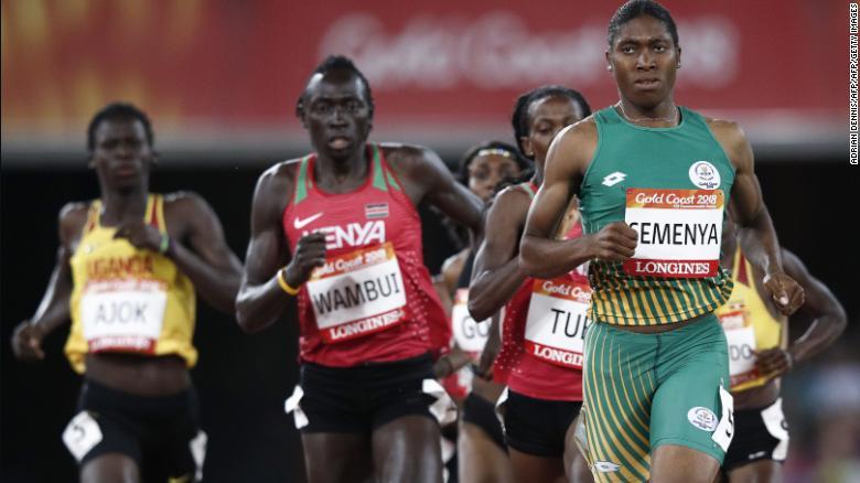 Caster Semenya tornerà a correre con le donne senza prendere farmaci