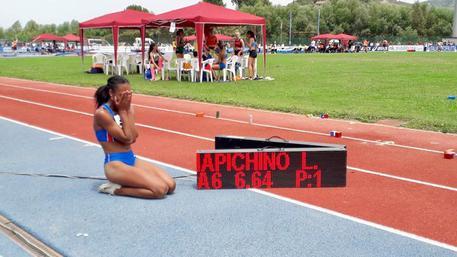 Exploit di Larissa Iapichino nel lungo, record italiano U18 e U20 ad Agropoli
