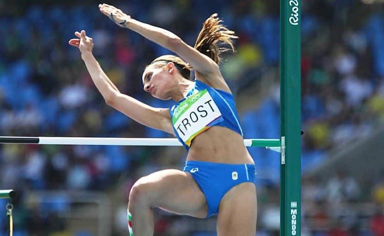 Ottimo esordio di Alessia Trost nell'alto a Hengelo, 4° Davide Re