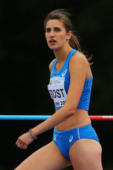 Alessia Trost giovedì in -LIVE STREAMING- in gara nell' alto a Ostrava