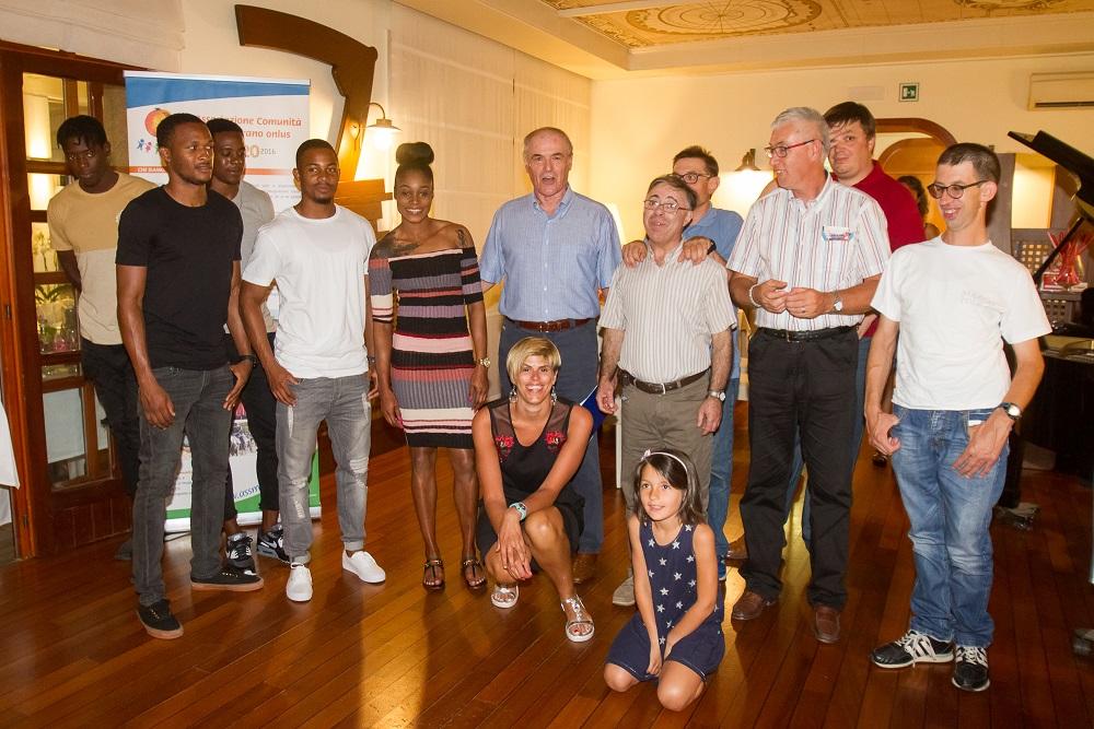 30° Meeting Sport Solidarietà - A CENA CON I CAMPIONI, serata solidale per il Melograno Onlus con gli atleti giamaicani