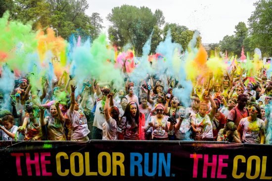 Foto LaPresse - Marco Alpozzi 09-06-2018 Parma (Italia) Sport Running The Color Run Parma 2019 Nella foto: la gara Photo LaPresse - Marco Alpozzi June 09, 2018 Parma ( Italy) Sport Running The Color Run Parma 2019 Nella foto: the race