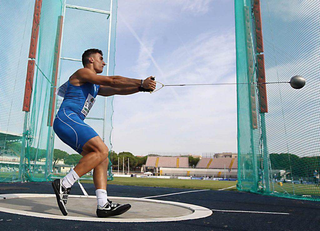Halle: Giorgio Olivieri migliora il record italiano del martello juniores- La diretta streaming adesso