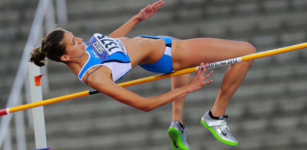 Alessia Trost  debutta oggi a Hengelo nel salto in  alto- la diretta