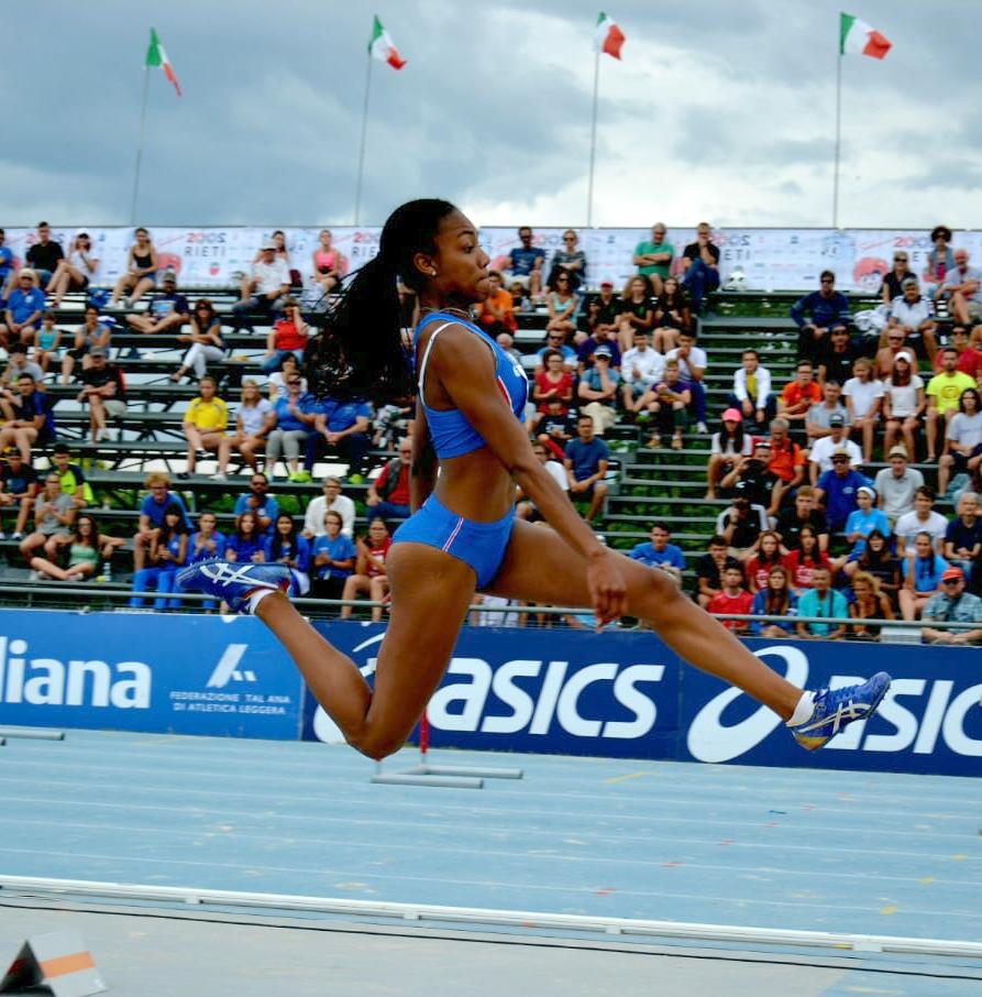 Tricolori Agropoli: Larissa Iapichino subito record personale nel lungo allieve
