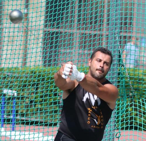 Marco Lingua spara il martello a 74,02 a Bergamo