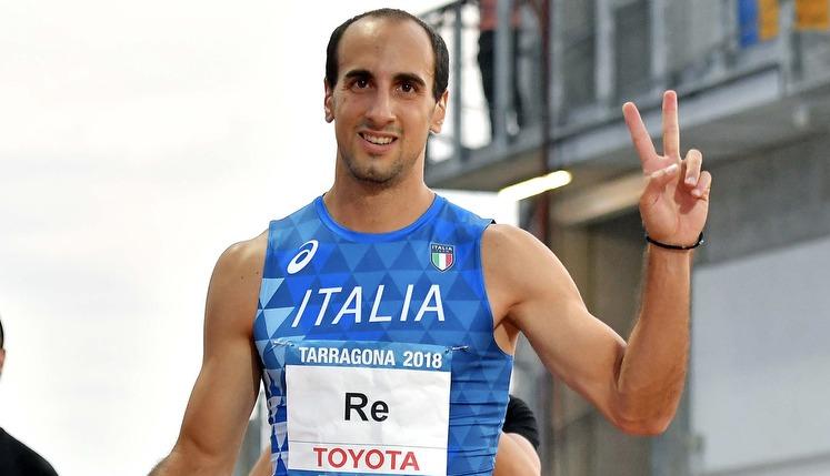 Un super Davide Re migliora il record italiano dei 400 metri a Ginevra