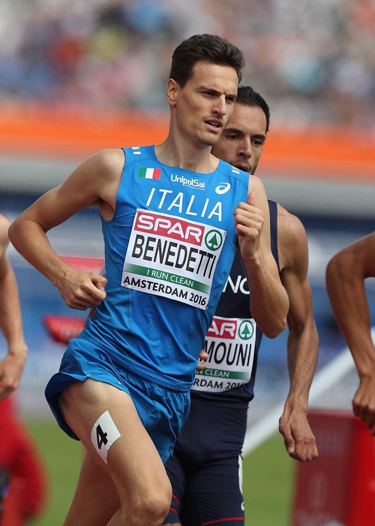 Giordano Benedetti riparte da 1:48.76 negli 800 metri in Svezia- IL LIVE STREAMING