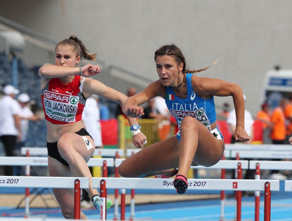 Luminosa Bogliolo fa tremare il record italiano dei 100 ostacoli, LA DIRETTA STREAMING