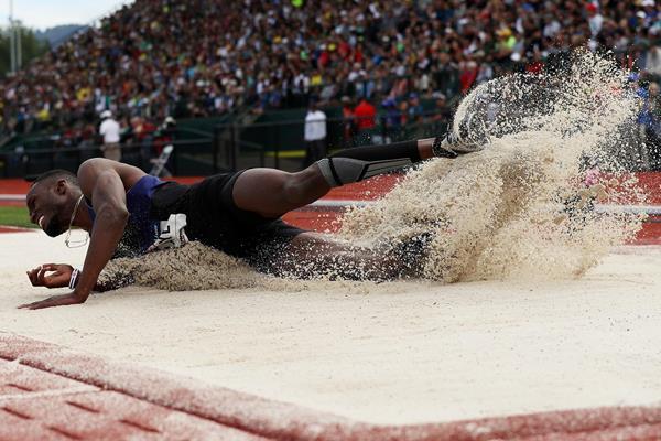 Will Claye vola sopra 18 metri nel triplo, terzo saltatore di sempre-IL VIDEO