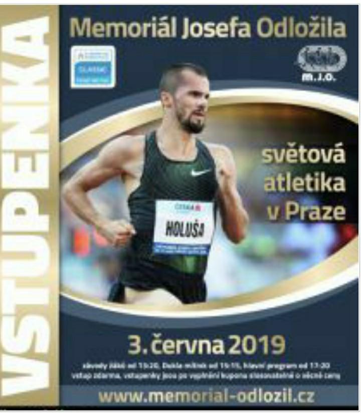 Oggi la diretta streaming del Memorial Josefa Odlozila, mezzofondo e lanci le gare più attese