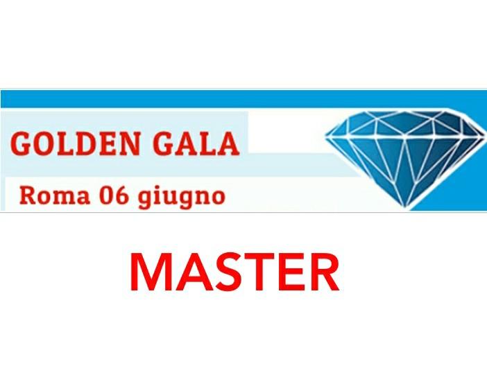 Golden Gala Master: ecco i protagonisti di giovedi