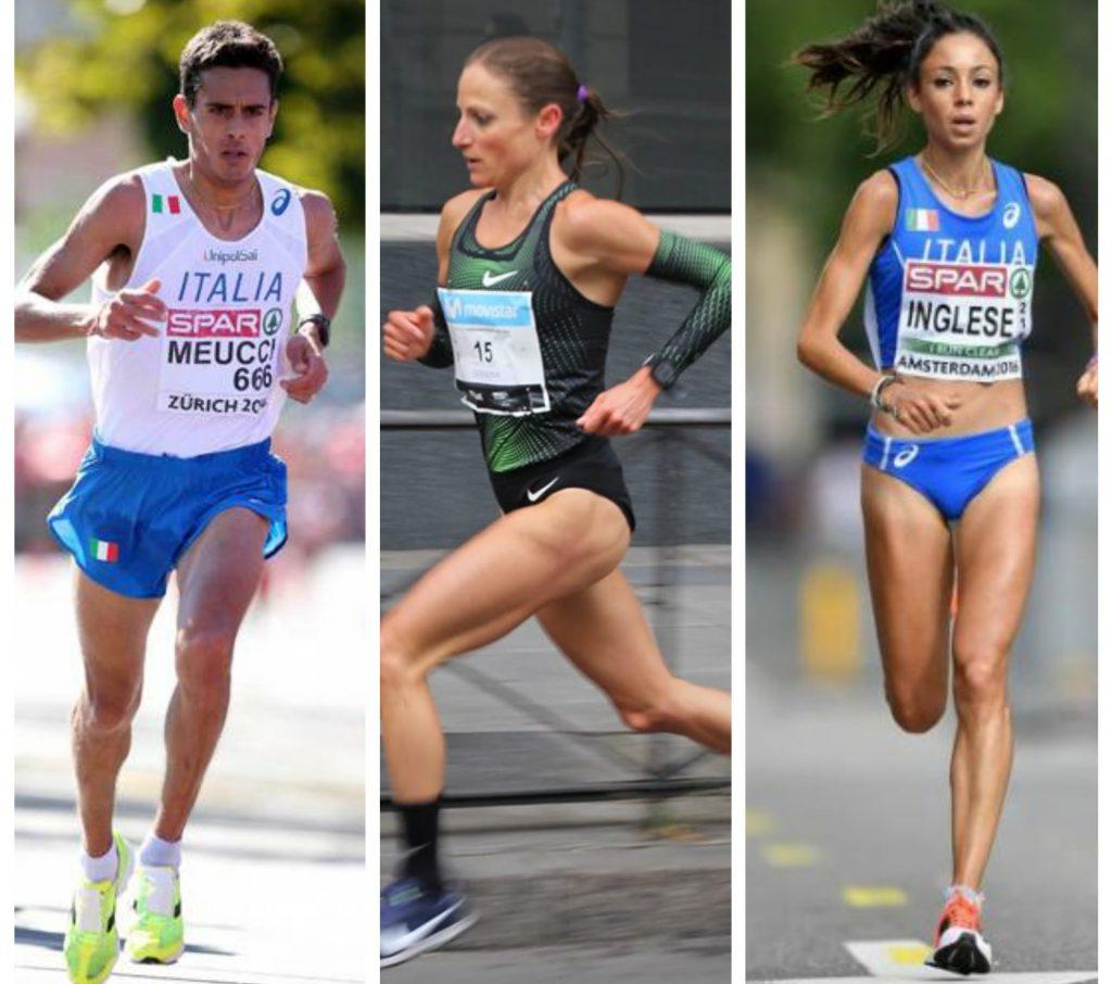 Daniele Meucci, Sara Dossena e Veronica Inglese sono gli azzurri più attesi al Trofeo Città di Telesia