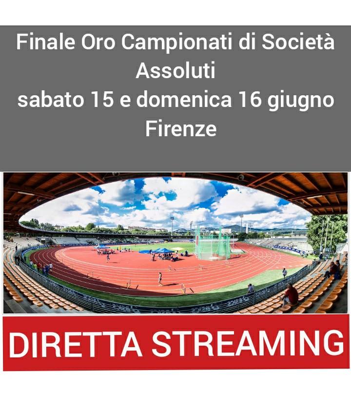 CDS finale Oro Firenze, oggi inizia la 2 giorni in DIRETTA STREAMING