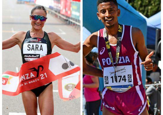 Sara Dossena e Eyob Faniel vincono il 13^ Trofeo Citta' di Telesia: secondo Meucci, quarta Veronica Inglese