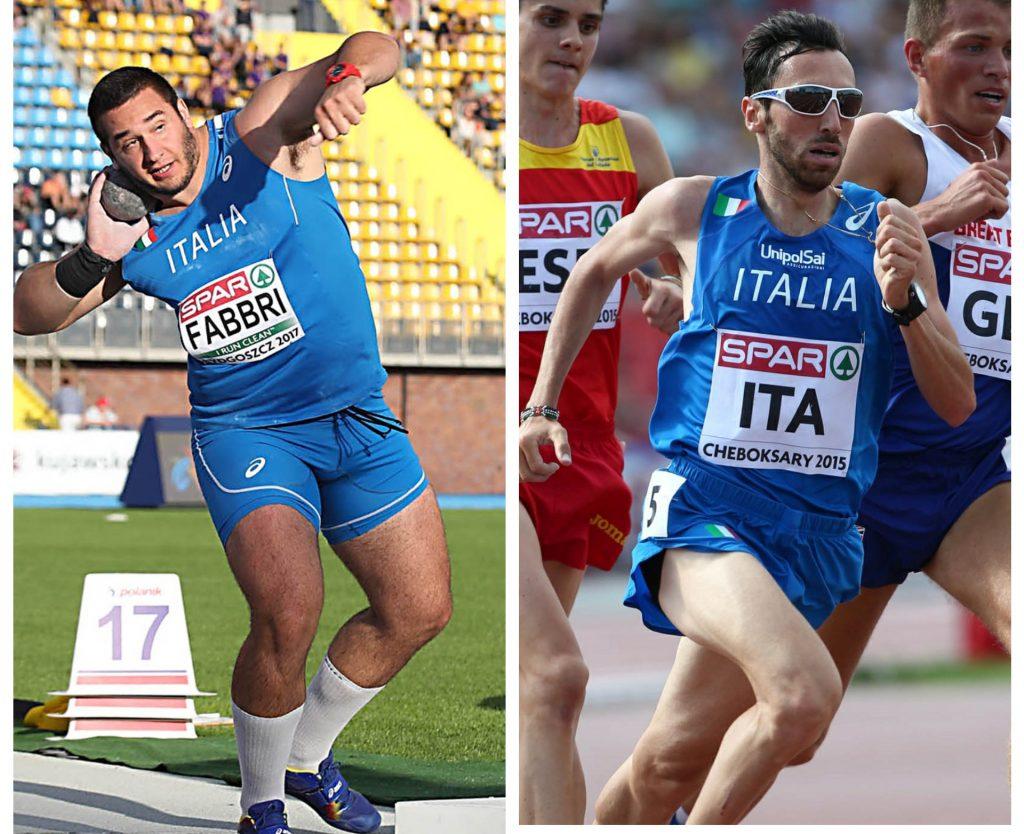 Leonardo Fabbri e Stefano La Rosa in gara venerdi nel Meeting Città di Conegliano-Trofeo Toni Fallai