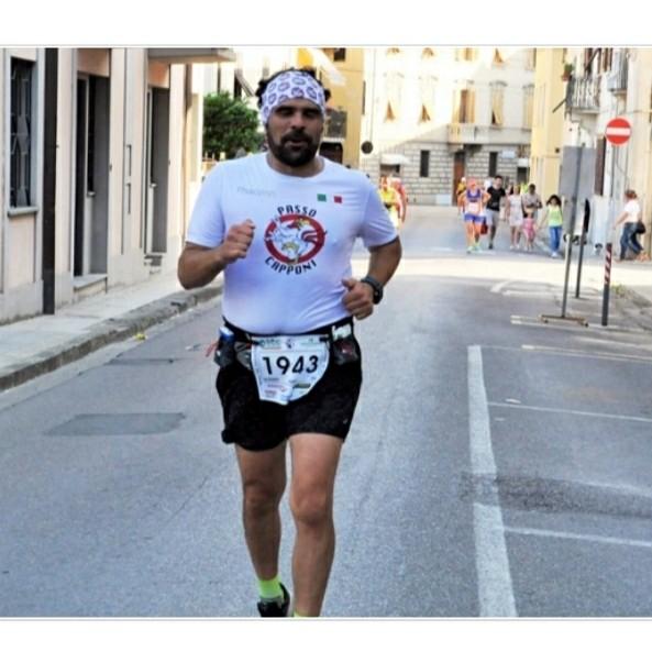 Singolare squalifica per Alessio Guidi, runner e  presidente della Passo Capponi