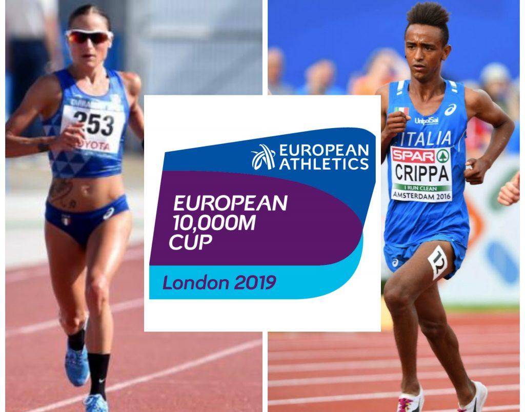 Sara Dossena e Yeman Crippa guidano i convocati azzurri per la Coppa Europa dei 10.000 metri