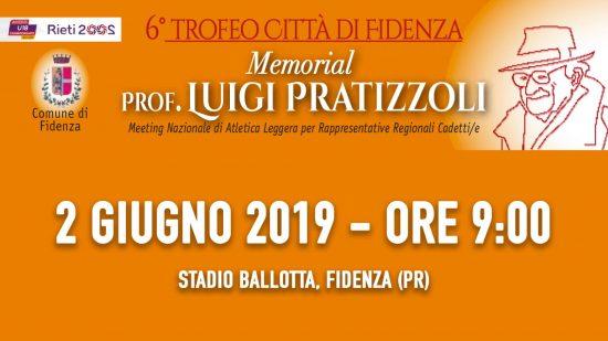 Risultati Trofeo Città di Fidenza-Memorial Pratizzoli- tutti i vincitori