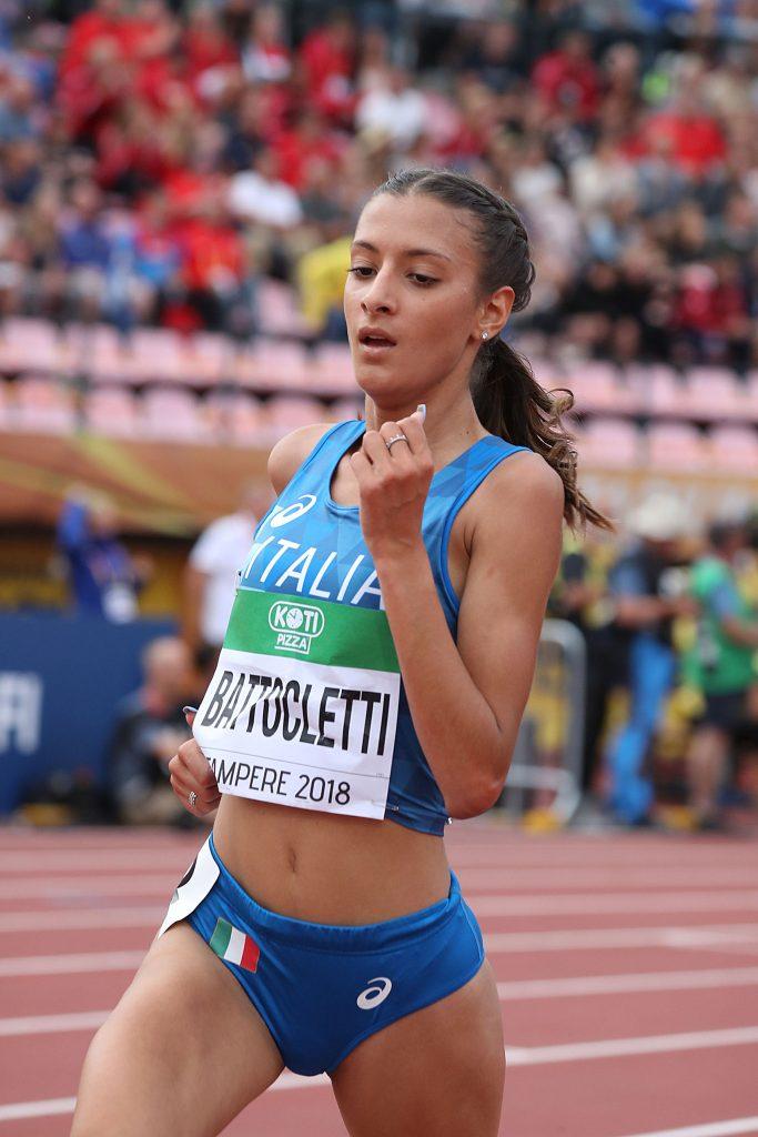Tricolori juniores: Nadia Battocletti guida i protagonisti del MEZZOFONDO- live streaming