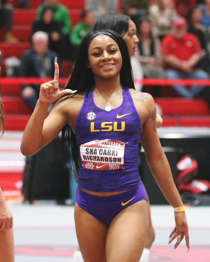 Storica doppietta 100-200 metri U20 della Richardson ai Campionati NCAA