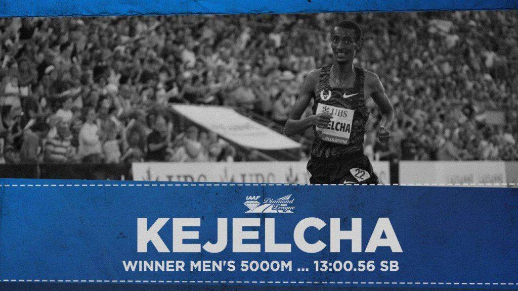 Losanna: incredibile 5000 metri,  Gebrhiwet sbaglia l'arrivo e vince Yomif Kejelcha