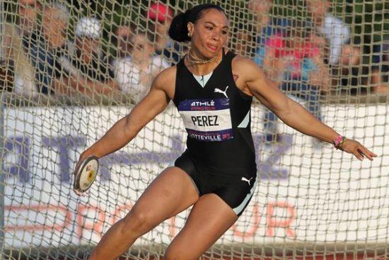 Vola il disco della Perez, 69,39 miglior lancio mondiale