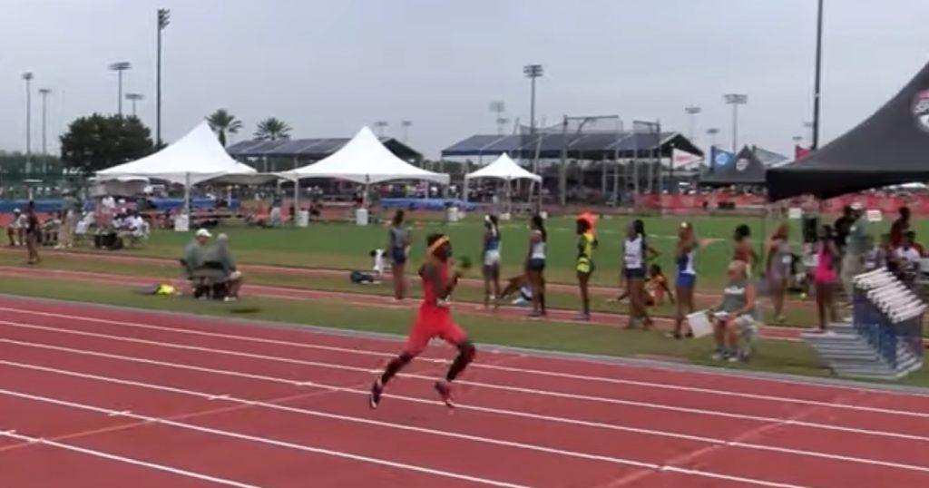 A 13 anni corre i 400 metri in 47.86, il video