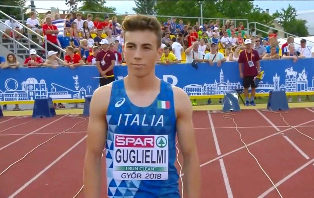 Eyof Baku: notevole oro per Federico Guglielmi nei 200 metri
